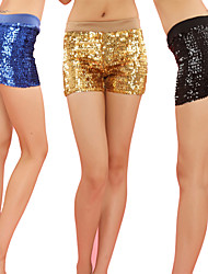 Jazz Performance Dancewear Polyester with Sequins Jazz Dance Bottom For Women(More Colors)