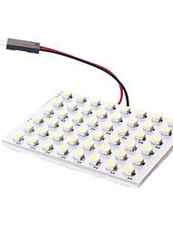 T10/Festoon 3W 48x3528SMD белый свет Светодиодные лампы для автомобиля лампа для чтения (DC 12V)
