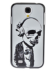 Skeleton Musiker Pattern Hard Case für Samsung Galaxy i9500 S4