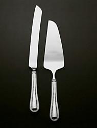 conjuntos que servem bolo de casamento faca de prata banhado bolo faca e conjunto de servidores