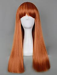 Straght Shooter Auburn Rust Gothic Lolita Wig