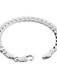 925 bracelet plaqué alliage cuivre-nickel