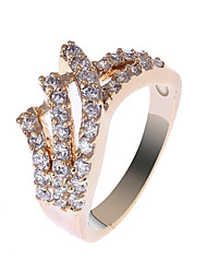 S & V Frauen-18K Rose Gold Plating Zirkon Ring BBR-00274_1