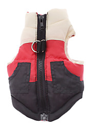 Dog Coat Red Winter Classic