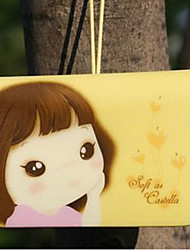 Держатель печенье девочка кредитной карты (случайный цвет, в течение 12 карт)