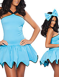 Sweet Honey Sky Blue Fancy Dress Women's Costume