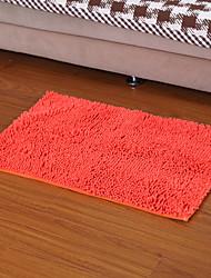 Elaine microfibra antiderrapantes tapetes de chão de 50 * 80cm s