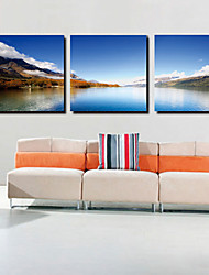 Trasferimenti su tela Art Landscape Distanza Set di 3