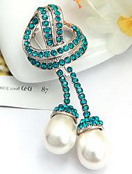 Pearl Pendant Brooch(Random Color)