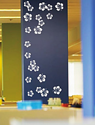 Flower Dots Wall Sticker