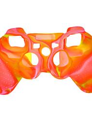 Schutzmaßnahmen Silikon zweifarbige Tasche für PS3 Controller