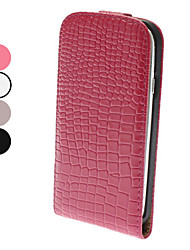 Flip-Open Design Noble Alligator Grain Leather Case for Samsung Galaxy S3 I9300