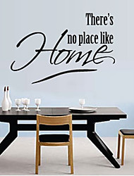 Il ya No Place Like Home Wall Sticker