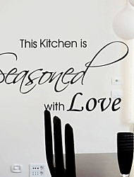 Seasoned with Love Wall Sticker