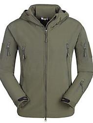 caminhadas exército verde jaqueta
