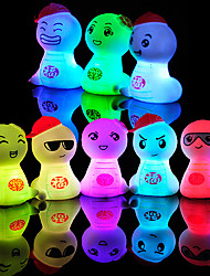 Novely Cartoon LED Tafellamp Light (willekeurige kleur)
