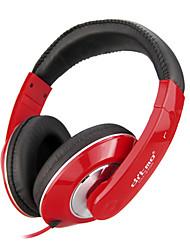 Stereo Music 3.5mm On-Ear Headphone DM-3700 (Black,Red,White,Blue,Purple)