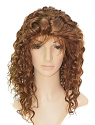 "Lace Front 100% Indian Remy Hair 20"" Curly Hair Wigs"