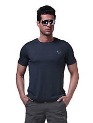 Extérieur Homme T-shirt Camping & Randonnée / Pêche / Escalade / Courses / Sport de détente / Cyclisme/Vélo Respirable / Séchage rapide