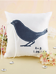 Personalized Love Bird Wedding Ring Pillow