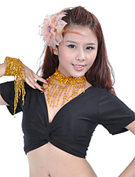 Dance Accessories Jewelry Women's Training Polystyrene Beading Gold / Silver Belly Dance / Performance Spring, Fall, Winter, Summer