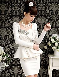 Women's Dresses , Cotton/Polyester/Spandex XNR