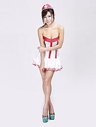 Enfermeira sexy mulher adulta Halloween Costume (2 Unidades)