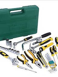 39 Pcs Tool Kits Case with Hard Carrying Handle for Your Car& Home& Office Use