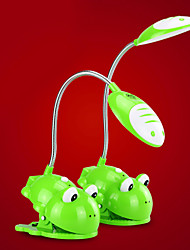 0.9W Lovable Clamp-On lampe de bureau Light In Cartoon Frog Design