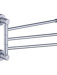 "Barra para Toalha Alumínio De Parede 225 x 320 x 58mm (8.8 x 12.6 x 2.3"") Aluminio Contemporâneo"