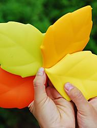 feuille d'érable silicone portable lavage potable tasse de Voyage gargariser de camping poche (couleur aléatoire)