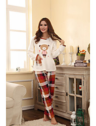 Bear Balloon Pattern Lounge Wear