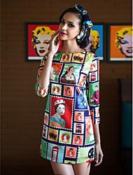 TS Марки печати платье