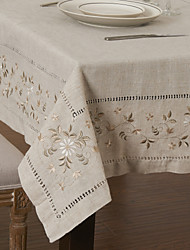 As per picture Linen / Rayon Square Table Cloths