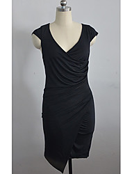 Women's Dresses , Polyester Casual/Work Haoduoyi