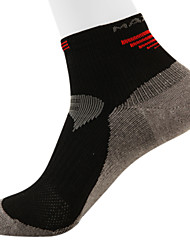 MAXLAND Men's Breathable Reflective Yarn Cycling Socks