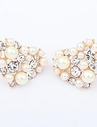 Perle Cœur Forme de Coeur Or Bijoux