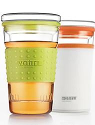 Cute Glass Travel Mug With Gel Cover