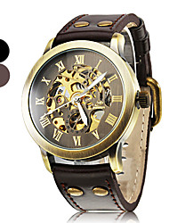 Men's Watch Auto-Mechanical Watch Vintage Hollow Engraving