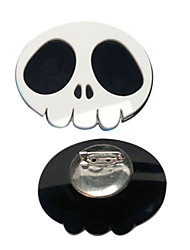 The World God Only Knows Elsie Skull Brooch