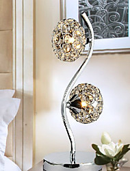 Creative Crystal Table Lamp With 2 Light 220-240V