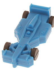 4GB Soft Rubber Racing Car Model USB Flash Drive(Sorted Color)