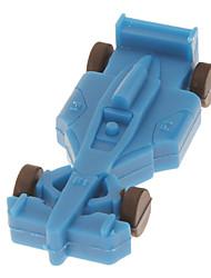 4GB Soft Rubber Racing Car Model USB Flash Drive(Sorted Color)