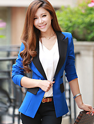 Women's Contrast Tailored Collar Blazer