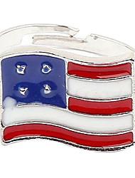 British American Retro drapeau britannique Anneau