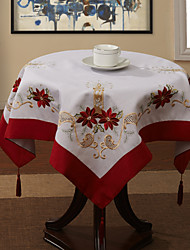 Multi-color Polyester Square Table Cloths