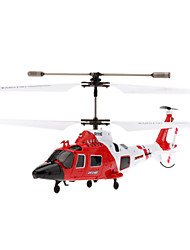 SYMA S111G 3.5 Channel Infrared Remote Control Mini Helicopter with Gyro & Light (Red,6xAA)