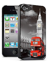 Bus Pattern 3D Effect Case for iPhone4/4S