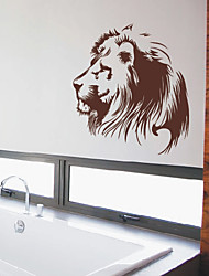 Animal Brave Lion Wall Stickers