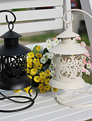 Wedding Décor Retro Hangting Ironwork Candle Holder(More Colors)